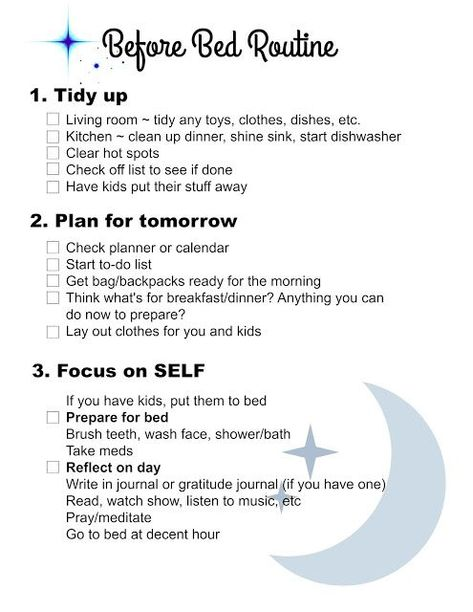 image regarding Morning Routine Flylady Printable known as Early morning schedule