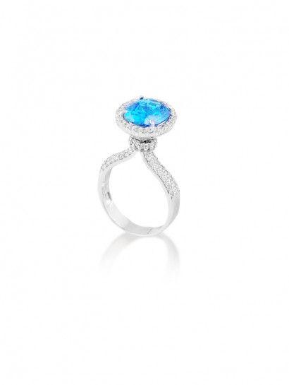 خاتم ذهب عيار 18 خاتم ذهب ابيض حريمى متميز جدا لاصحاب الذوق الرفيع Turquoise Ring Gemstone Rings Gemstones