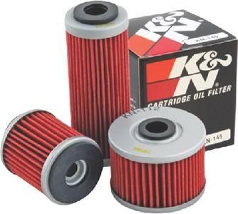 K N Performance Gold Oil Filter Cartridge Oil Filter K N Oils