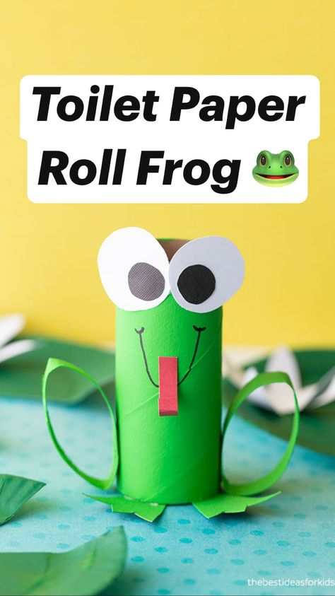 Best Toilet Paper Roll Frog 🐸