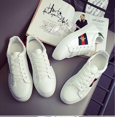 Flat Trainers Shoes WS7
