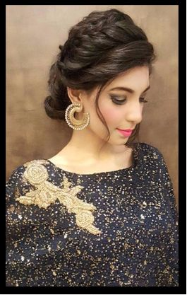 South Asian Indian Bridal Beauty Nazia S Wedding Indian Wedding Hairstyles Indian Bridal Hairstyles Hairdo Wedding