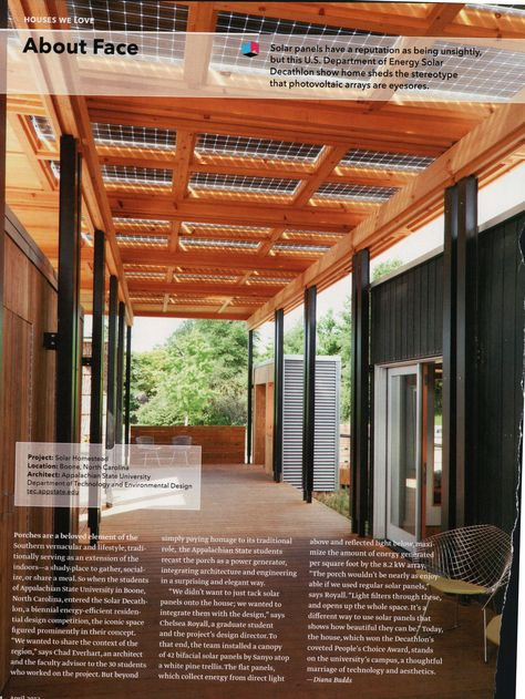 patio awning solar racking above so you get solar power a