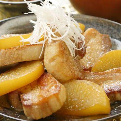 豚バラ肉と大根のポン酢さっぱり煮