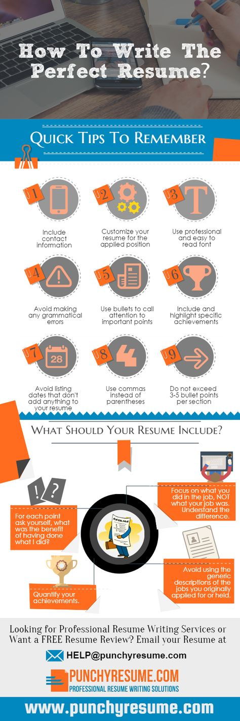 Exposing the Most Popular Myths about Writing Resumes Resume - writing a perfect resume