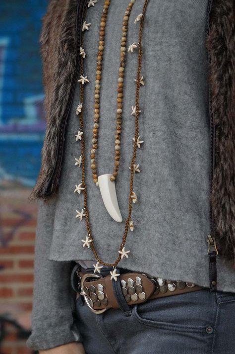 Me gusta el collar de estrellas                                                       …