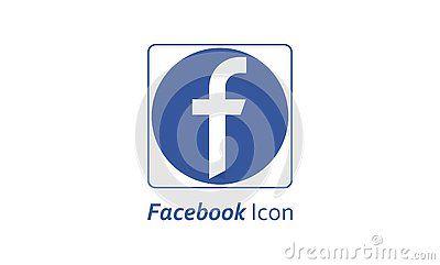 Social Media Facebook Social Media Icon Logo With Popular Social Media Icon Template Logo Symbol Blue Colored Round Template Logo Logo Symbol Social Media Icon