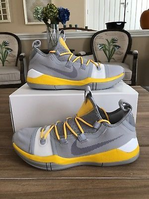 Nike iD Kobe AD Exodus Yellow Gray
