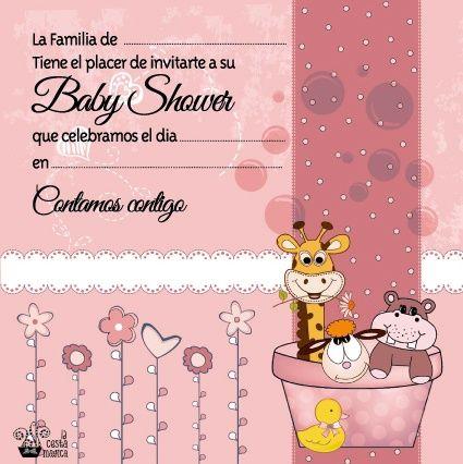 Invitaciones Gratis Para Baby Shower Descargalas Gratis En