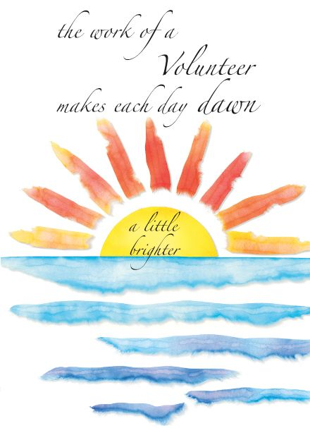 Volunteer Appreciation Thank You Cards With Images