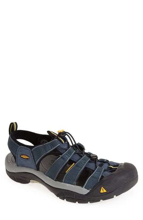 Keen Mens Newport H2 Shoes Sandals Blue Sports Outdoors Breathable Lightweight