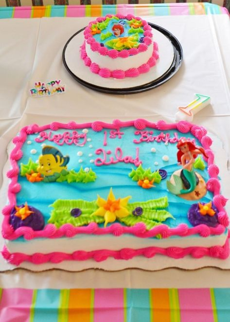 30 Amazing Picture Of Walmart Birthday Cake Themes Little Mermaid At Ideas