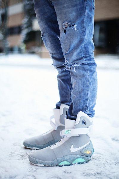 Nike's Anti Gravity shoes.