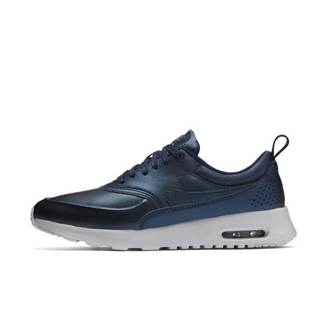 d37228a458 Nike Air Max Thea SE Metallic Women's Shoe Size 6.5 (Blue) - Clearance Sale
