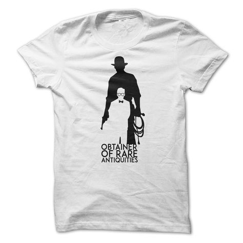 Obtainer of Rare Antiquitites Unisex T-Shirt Adult Pop Culture Graphic Tee Nerdy Geeky Apparel