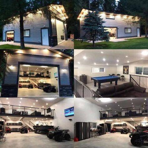 53 Ideas Home Dream Garage Garage Design Garage Loft Man Garage