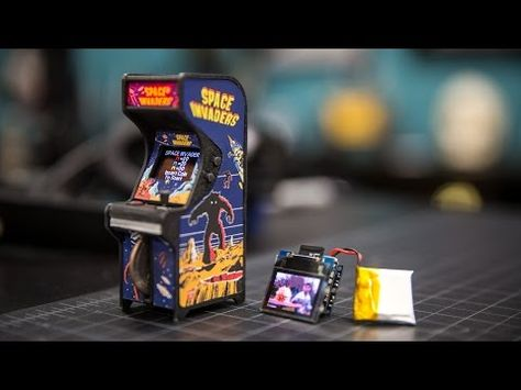 Tiny Arcade – A Retro Tiny Playable Game Cabinet by Ken Burns ...