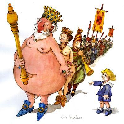 I vestiti nuovi dell'imperatore, una fiaba di Christian Andersen ...