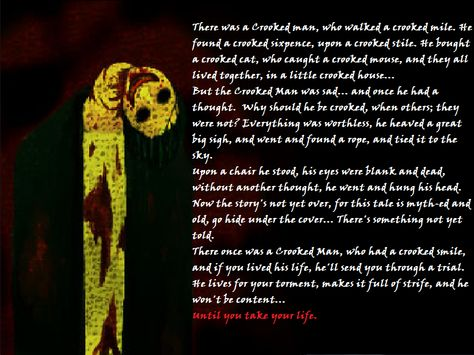 The Crooked Man by ~Nyroc-The-Wolfeh on deviantART  I love the way she finished the poem.