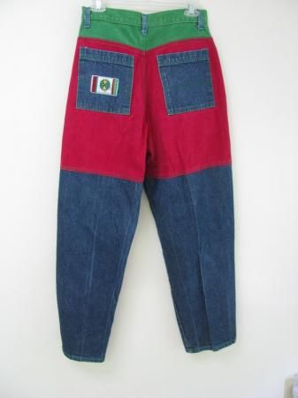 Colored Jeans 90s