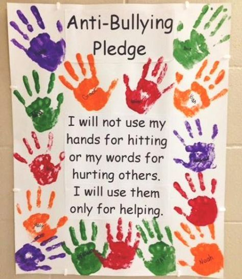 28 Anti-Bullying Bulletin Boards to Spread Kindness in Your Classroom – Bored Teachers Anti Bullying Week, Anti Bullying Activities, Preschool Activities, Anti Bullying Lessons, Anti Bullying Campaign, Manners Activities, Cyber Bullying, Teaching Manners, Preschool Bulletin
