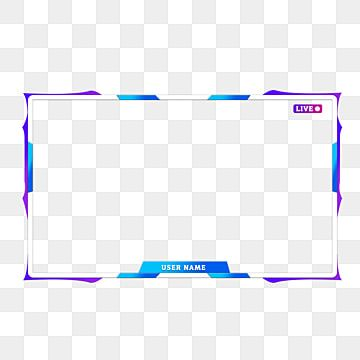 Twitch Live Stream Superposition D Alertes Bordure Transparente Sans Texte Clipart De Bordure Streaming Superposition Facecam Facebook Fichier Png Et Psd Pou Overlays Clip Art Borders Clip Art