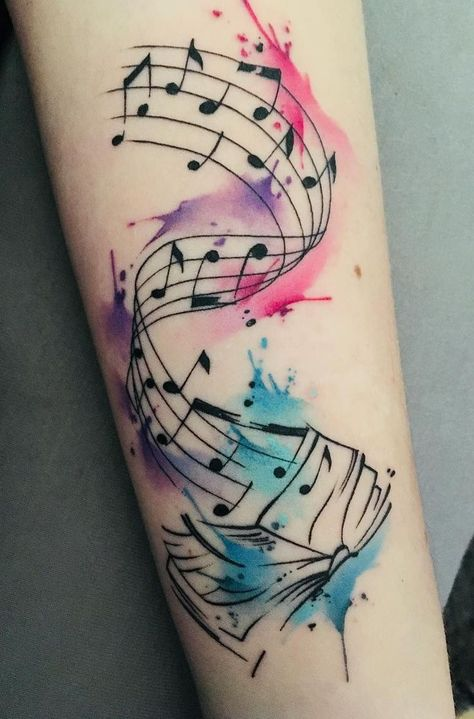 watercolor book tattoo ideas 💕📖✨💕📖✨💕