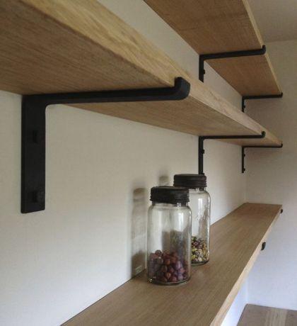 Wrought Iron Bracket In 2019 Wrought Iron Shelf Brackets Kitchen Shelves Shelves