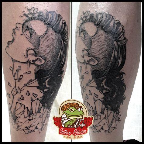 tattooed Freedom girl tattoo #tattoo...