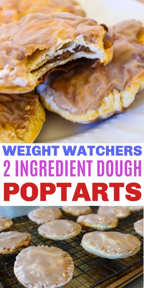 Weight Watchers 2 Ingredient Dough Poptarts - Life is Sweeter By Design