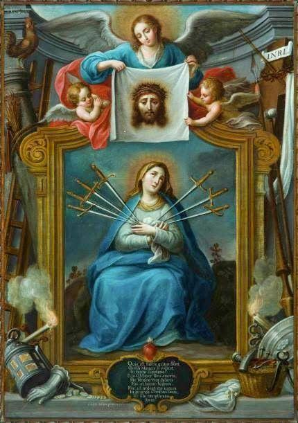 Sete Dores De Nossa Senhora Em 2020 Arte Religiosa Nossa