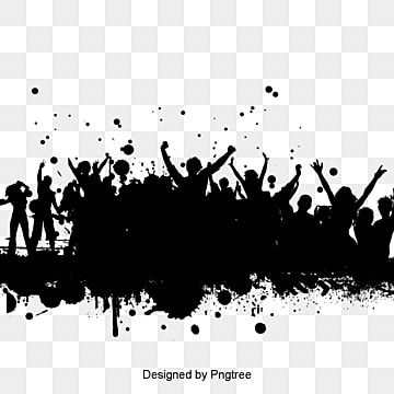 Silhouettes Of People Dancing People Clipart Dancing Clipart Sketch Png Transparent Clipart Image And Psd File For Free Download Crowd Drawing Background Wallpaper For Photoshop Silhouette Art