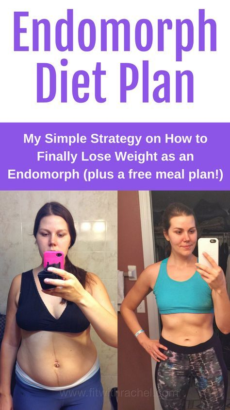 endomorph diet plan combined with workout