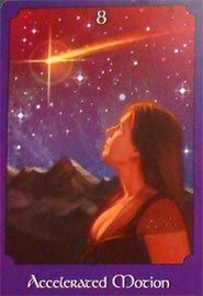 Psychic Tarot The Psychic Tarot is a hybrid tarot/oracle deck. It has 22 major arcana (retitled), four suits of nine numbered cards, and seven chakra cards. The art is non-traditional but attractive, and is designed to be intuitive.