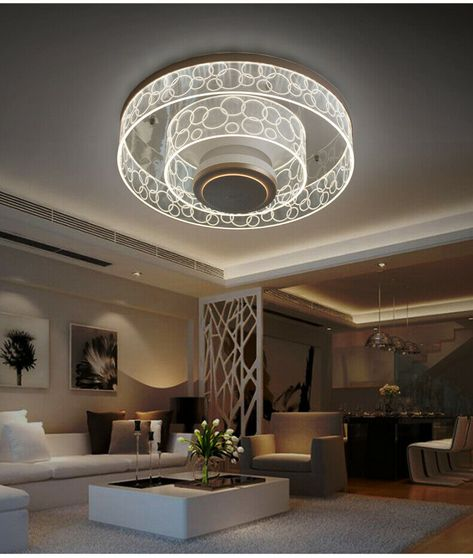 Led Round Bubble Ceiling Lamp For Living Room Dining Room Bedroom