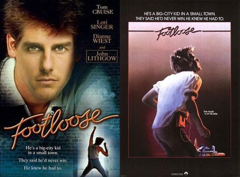 Footloose with tom cruise how the movie posters would look if they footloose with tom cruise how the movie posters would look if they followed their original castings page 3 of 5 boredbug movies pinterest movie fandeluxe Choice Image