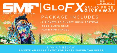 sunset music festival ticket giveaway