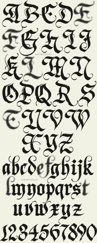 17 Best images about Fonts on Pinterest | Calligraphy, The elder ...