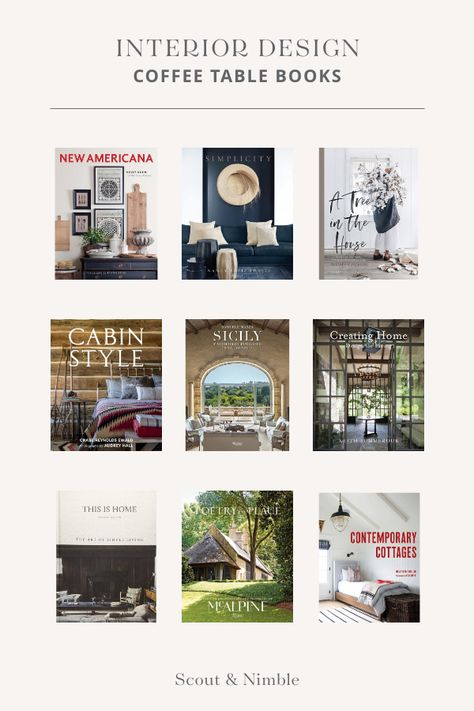Make A Statement With Curated Coffee Table Books Coffee Table