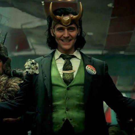 Loki - Loki button for president