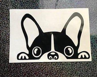 This Item Is Unavailable In 2020 Boston Terrier Dog Vinyl Sticker Terrier