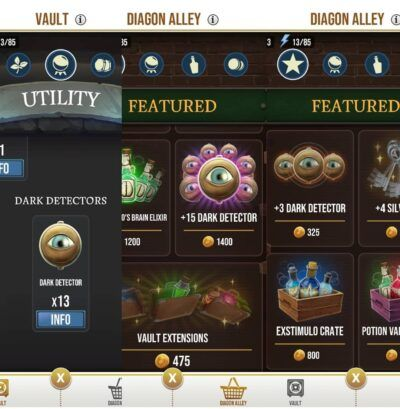 Dark Detectors Inn Wizards Unite Diagon Alley Check Out Our Guide To Wizards Unite Inns Everything You Need To Know About Harry Potter Wizard Rewards Energy