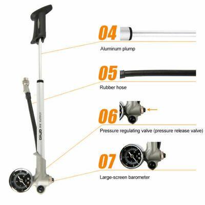 Sponsored Ebay High Pressure Mtb Bike Suspension Pump 300psi Rear