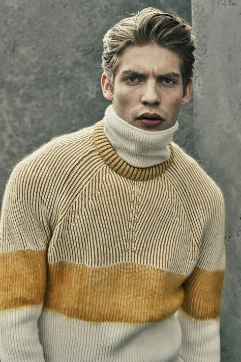 Belstaff Fall 2015 Menswear - Collection - Gallery - Style.com // Turtleneck, Shades of Ochres