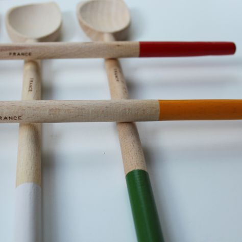 I think I have just discovered the most amazing set of wooden spoons!.  Thanks,  Cachette!