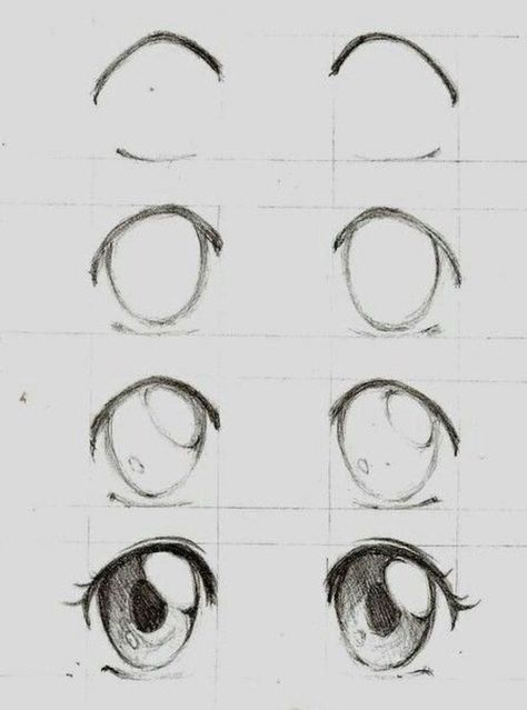 girl drawing easy, step by step, drawing tutorial, black and white, pencil sketch