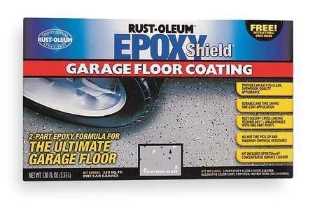 Epoxyshield Semi Gloss Gray Garage Floor Kit 120 Fl Oz Garage Floor Garage Floor Paint Garage Floor Epoxy