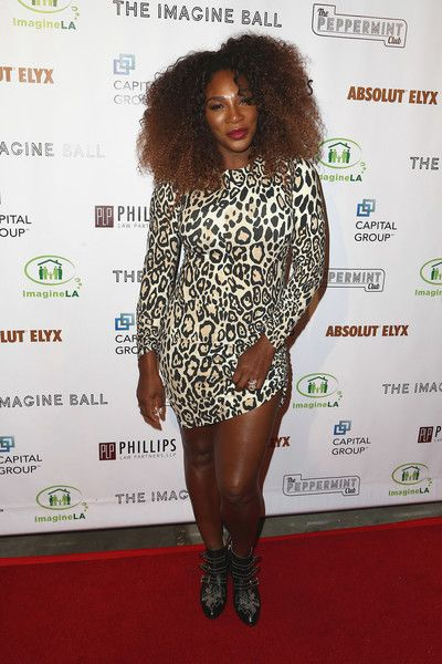Serena Williams attends the 5th Annual Imagine Ball honoring Serena Williams.