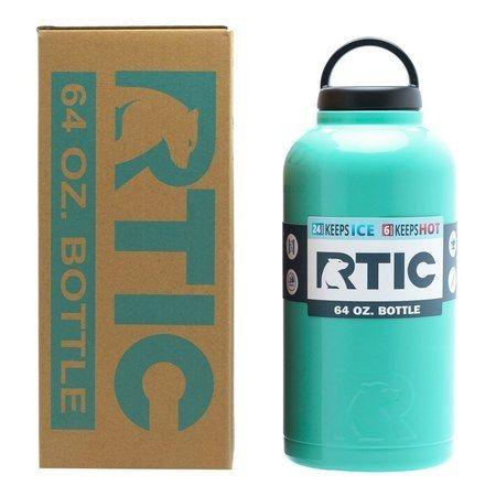 Shop Teal Rtic 64oz Bottle Bottle Rtic Water Bottle
