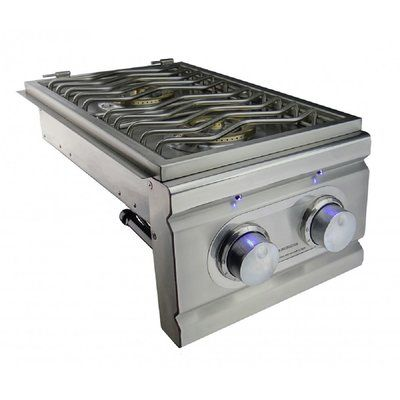 Renaissancecookingsystems Renaissancecookingsystems Cutlass Gas Double Burner Induction Heating Outdoor Kitchen Cabinets Double Burner